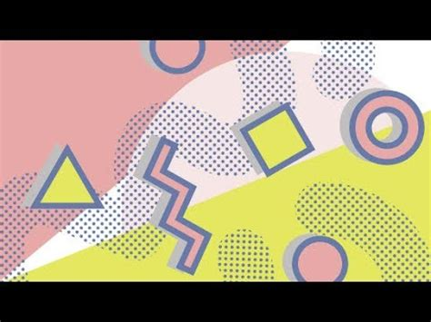 How To Create A Memphis Pattern In Adobe Illustrator