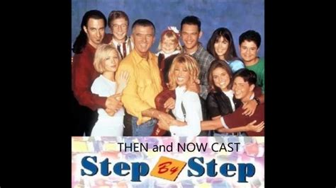 Step By Step Cast Then And Now Youtube