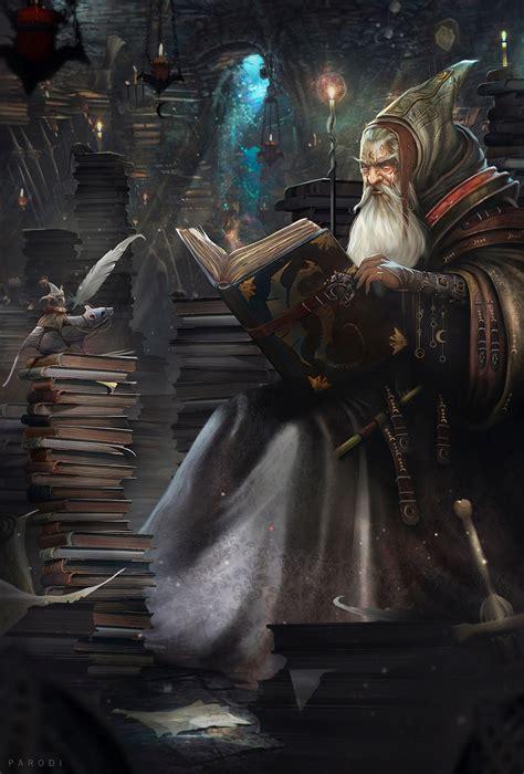 fantasy art cuentos de hechizero  digital