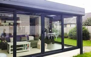 Modele De Veranda : contemporaine v randas bois et aluminium nantes ~ Premium-room.com Idées de Décoration