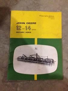 John Deere Rotary Hoe