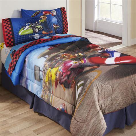 licensed kids super mario twinfull comforter