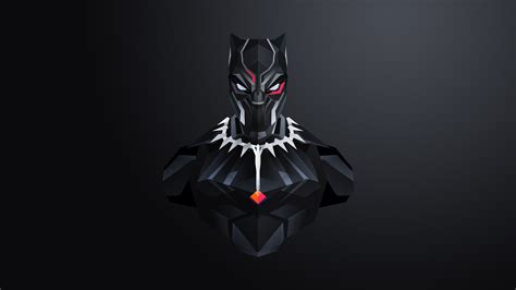 Black Panther Hd Wallpaper For Mobile by Black Panther Minimal 4k Wallpapers Hd Wallpapers Id