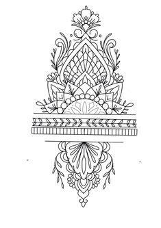 500+ Geometric Tattoos images in 2020 | tattoos, mandala
