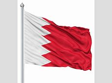 Flag Of Bahrain The Symbol Of Strength