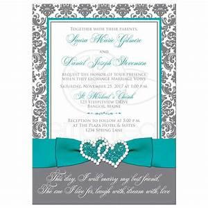 wedding invitation template aqua blue chatterzoom With wedding invitation template aqua blue