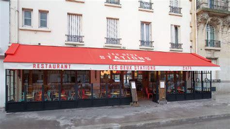 brasserie porte d auteuil les deux stations une brasserie r 233 tro sympa porte d auteuil