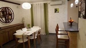 salon zen cocooning moderne salle a manger rennes With salle a manger cocooning