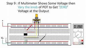 How To Do Offset Null Adjustment In Op - Amp