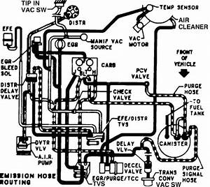 Do You Have A Vacuum Line Diagram For A 1984 Chevrolet G20 Van With A 5 0 Engine
