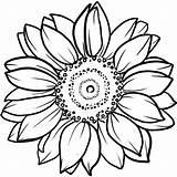 Sunflower Coloring Tattoo Bunga Matahari Mandala Gambar Sketsa Tattoos Inkbox Mewarnai Yang Drawing Circle Owl Drawings Florecer Shoulder Semi Printable sketch template