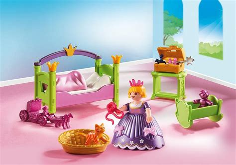 playmobil chambre princesse royal nursery 6852 playmobil usa