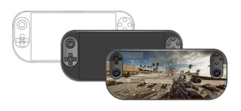 playstation portable concept behance feel does device