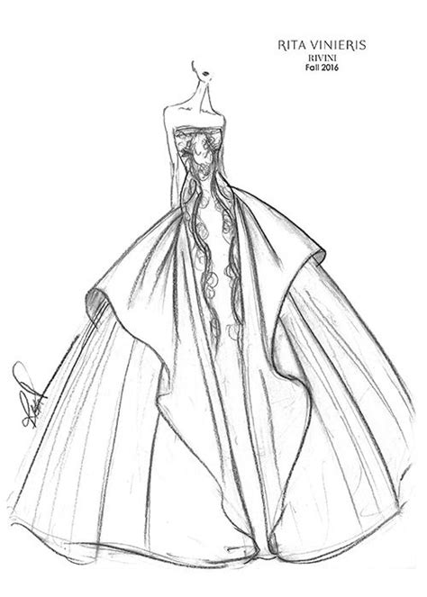 sketches brides images  pinterest