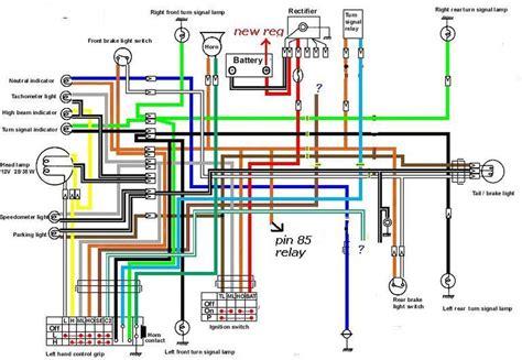 Wiring Diagram Suzuki 150 by Suzuki T500 T20 200 250 350 500 Ignition Kit 72 61 799
