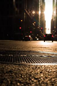 Traffic Light On Road High