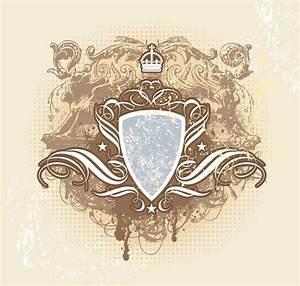 Heraldic Design Shileld Vector Free Download