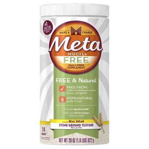 Amazon.com: Metamucil Smooth Texture Sugar-Free Unflavored