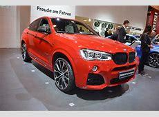 BMW M Performance TuningZubehör am BMW X4 F26