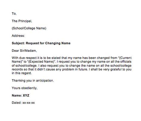 sample letter  change  request top form templates