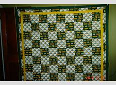 Green Bay Packers Quilt Done