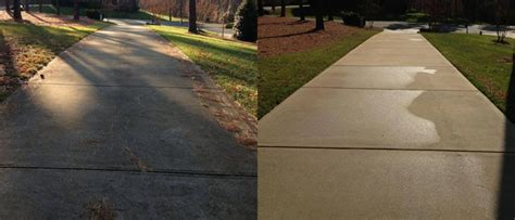 all services how to clean concrete with a pressure
