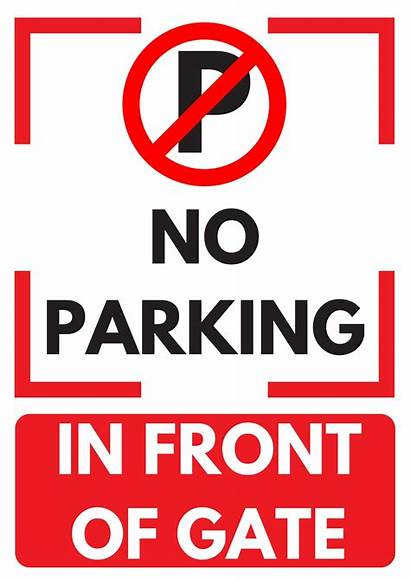 Parking Signs Printable Template Templates 2020calendarworld Gate