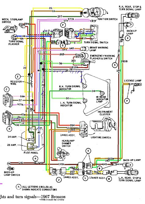 1972 ford bronco wiring diagram 1966 bronco wiring diagram