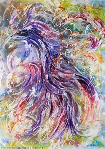 Obra De Arte  U0026gt  U0026gt  Natalya Zhdanova  U0026gt  U0026gt  P U00e1jaro La Felicidad Arte Original Abstracto Acr U00edlico Pintura
