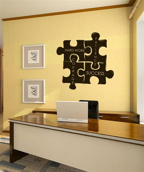 The crossword solver found 20 answers to the wall decoration crossword clue. Vinyl Wall Decal Sticker Motivational Puzzle Pieces #1114