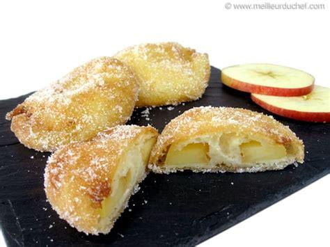 fiche recette de cuisine beignet aux pommes fiche recette avec photos