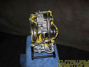 Nissan Xtronic Cvt Continuously Variable Transmission Transaxle  U2013 Cutaway Creations