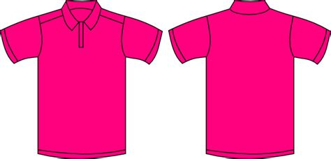 Blank T Shirt Outline Template