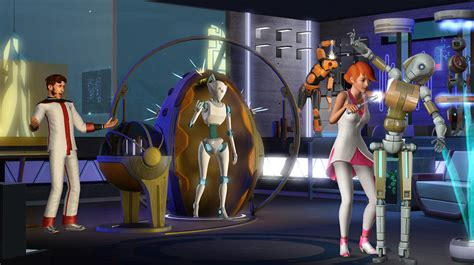 Maxis On Finding The Right Tone For A Futuristic Sims 3