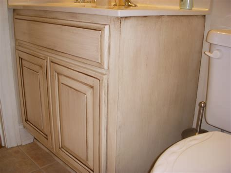 how to glaze oak cabinets cream cabinets with allover glaze cream painted oak