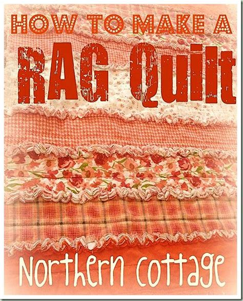 how to make a rag quilt the 36 best images about rag quilting on quilt