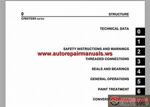 Daf Cf65  Cf75  Cf85 Series Workshop Manual