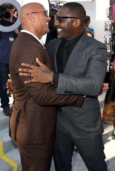 Dwayne Johnson and Idris Elba's Bromance Is 1 of the Best ...