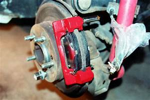 Separating Brake Caliper And Torque Plate