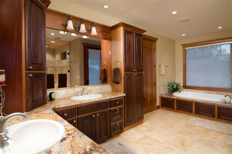 Free Standing Floor Mirror by 52 Master Bathroom Designs With Beautiful Woodwork