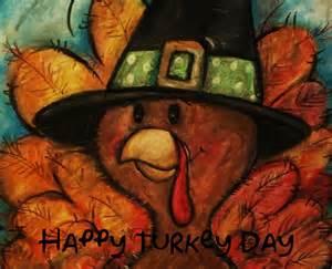 Happy Thanksgiving Day Turkey