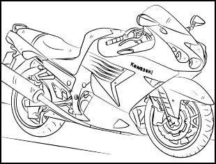 Desenhos Para Desenhar De Moto desenhos para desenhar de