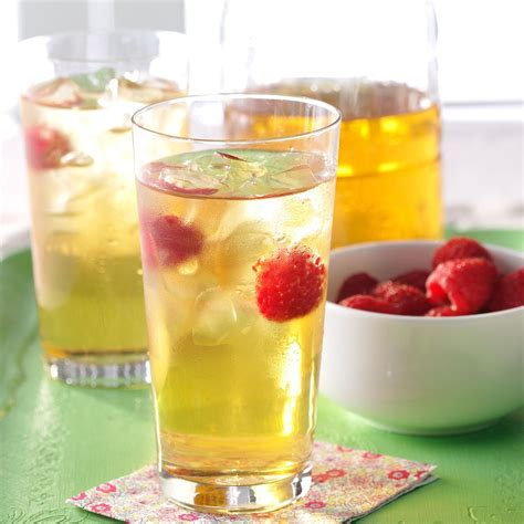 tea recipe refreshing raspberry iced tea recipe taste of home