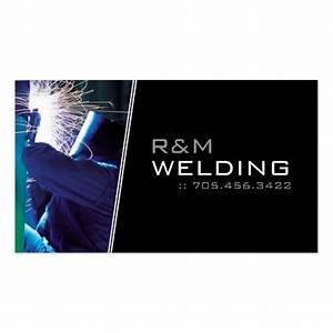 Welding business cards zazzle for Welding business cards