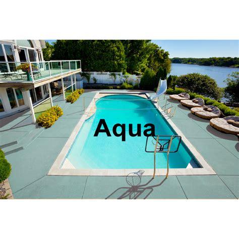 deck kote acrylic waterbase deck paint  gallon aqua
