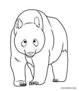 printable panda coloring pages  kids coolbkids