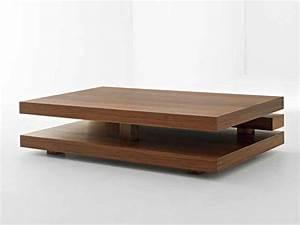 Table Basse Design Bois : table de salon rectangulaire en bois table basse table pliante et table de cuisine ~ Teatrodelosmanantiales.com Idées de Décoration