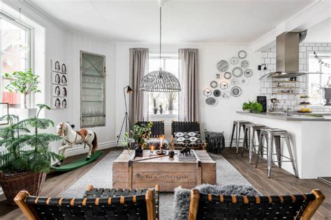 Scandinavian Country Interiors by Easy Country Style Decoholic