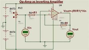 Schematic Circuit Diagram Op