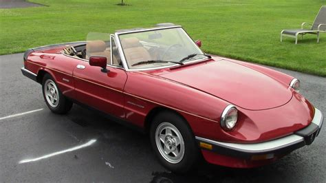 Alfa Romeo Spiders For Sale by 1990 Alfa Romeo Spider For Sale